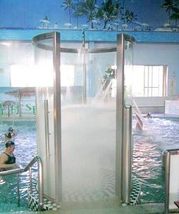 長青村水療養身游泳健康中心 八方淋浴